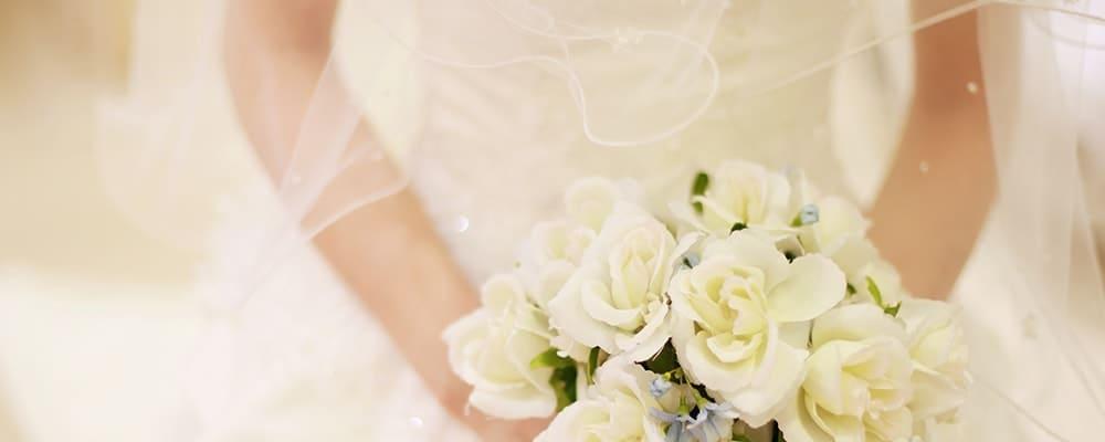 念願の結婚で幸せいっぱいな花嫁