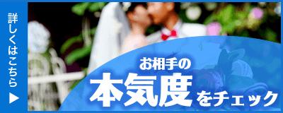 婚活サイトの本気度チェック