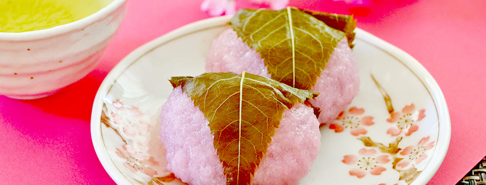 和菓子店の桜もち